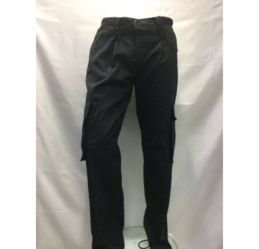calças preta modelo segurança