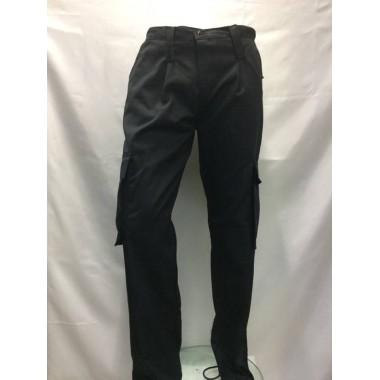 calça preta modelo segurança