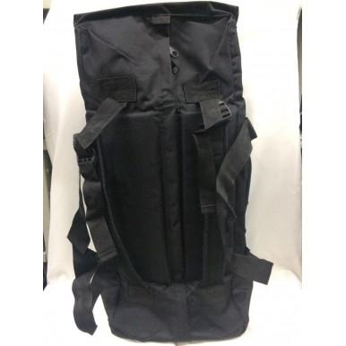 Saco e mochila grande preto todo reforçado