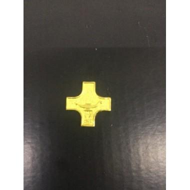 Cruz de metal para por em passadores