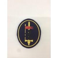 Emblema redondo de curso de cavalaria da GNR [de velcro]