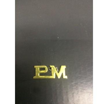 Pin de metal da PM para por nas divisas