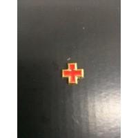 Pin de metal com Cruz vermelha