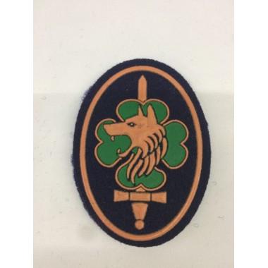 Emblema de velcro K9 (não é oficial)