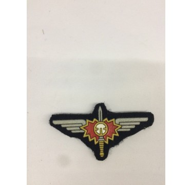 Emblema da polícia [águia em borracha]