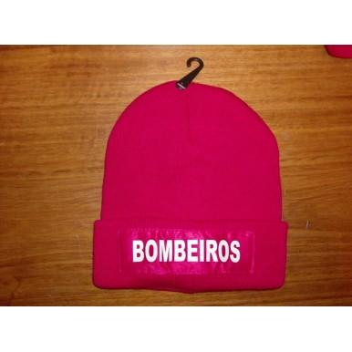 GORRO DOS BOMBEIROS EM VERMELHO