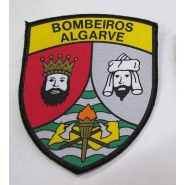 EMBLEMAS DE BOMBEIRO ALGARVE  em tecido