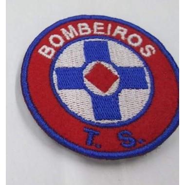 EMBLEMAS  BORDADOS BOMBEIROS  COM VELCRO TS