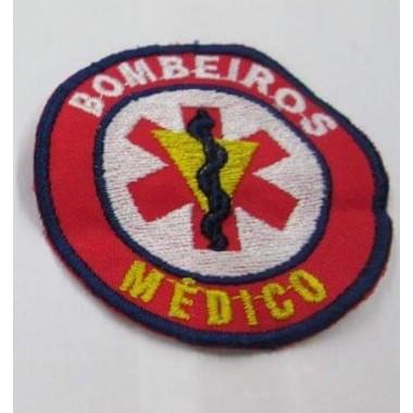 EMBLEMAS  BORDADOS BOMBEIROS  MEDICO