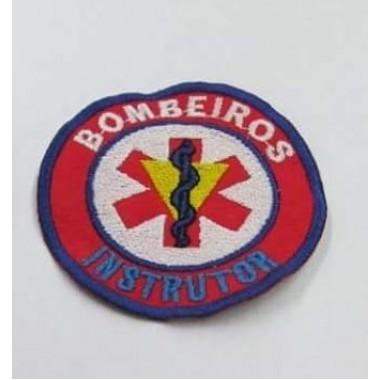 EMBLEMAS  BORDADOS BOMBEIROS INSTRUTOR
