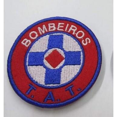 EMBLEMAS  BORDADOS BOMBEIROS COM VELCRO  T.A.T