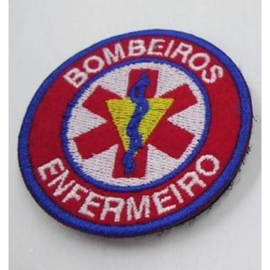 EMBLEMAS  BORDADOS BOMBEIROS COM VELCRO  ENFERMEIRO