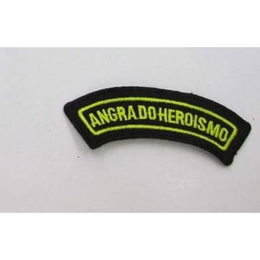 MEIA LUA BORDADA CIDADE ANGRA DO HEROÍSMO