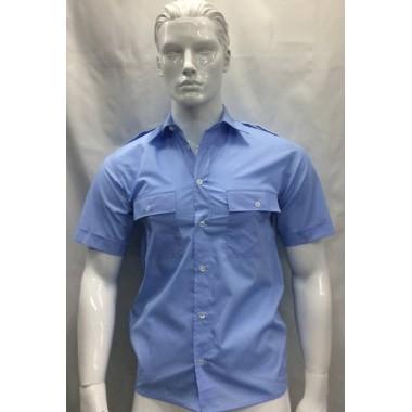 Camisa de bombeiros de manga curta