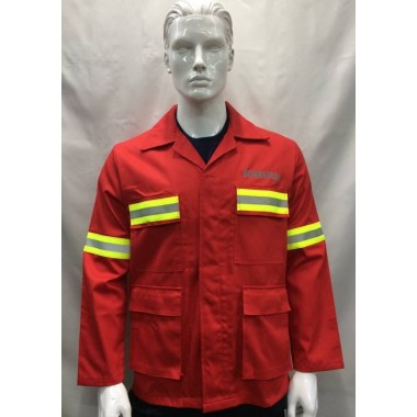 Dólman florestal ignifico de bombeiro