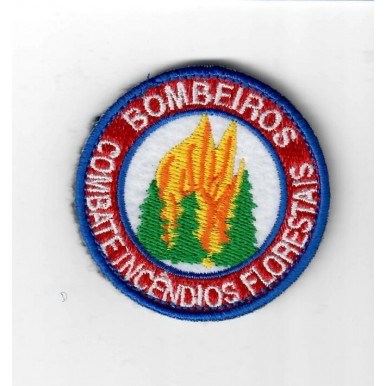 51 EMBLEMAS  BORDADOS BOMBEIROS  COMBATE INCÊNDIOS FLORESTAIS