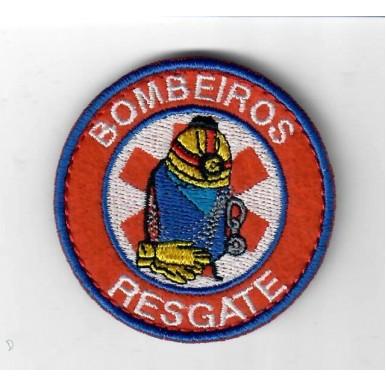 51 EMBLEMAS  BORDADOS BOMBEIROS  RESGATE