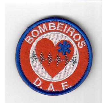 51 EMBLEMAS  BORDADOS BOMBEIRO D.A.E.