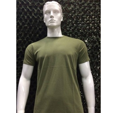 T shirt do exército verde boa