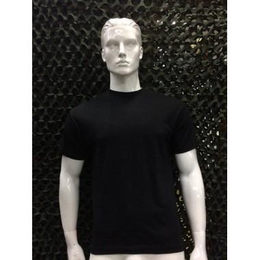 T- shirts preta de algodão