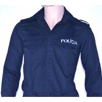 Denim shirt police