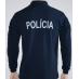 Polo polícia manga comprida