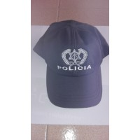 Cap psp statement with Velcro back and embroidery police in front and behind