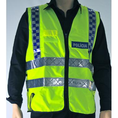 coletes reflector da policia