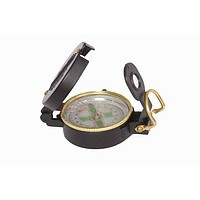 COMPASS - Stored Net - Magnifying glass on the display - Turning scale with graduations - Finding system on the lid