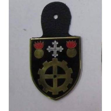 CRACHA DO EXERCITO BATALHÃO DO SERVIÇO DE MATERIAL [regimento de manutenção]