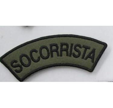 MEIA LUA BORDADA SOCORRISTA