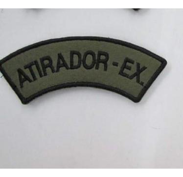 MEIA LUA BORDADA ATIRADOR -EX.
