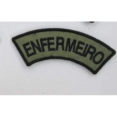 MEIA LUA BORDADA ENFERMEIRO