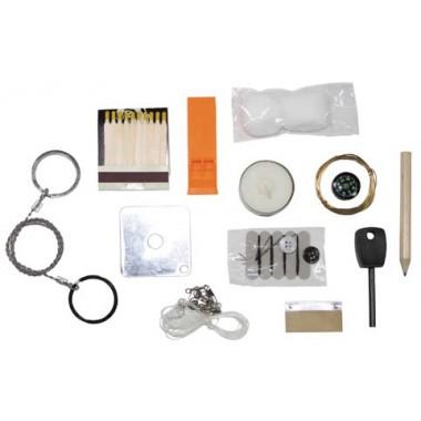 kit de sobrevivência pequena, a caixa à prova de água