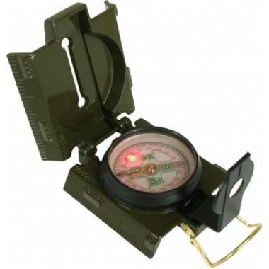 bússola com luz de fundo LED