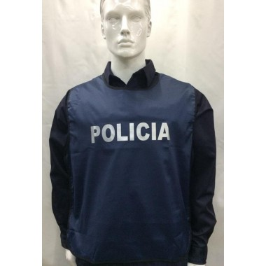 Colete da polícia a civil desdobrável