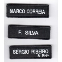 EMBROIDERY NAMES BLUE OR BLACK