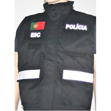 COLETES DE DUPLA FACE INVESTIGAÇÃO CRIMINAL  OS EMBLEMAS SÃO VENDIDO A PARTE