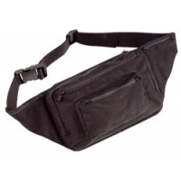 Cordura belt pouch with holster