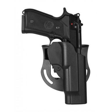 Coldre Vega para Glock + Acessório de Cinturão com encaixe de segurança