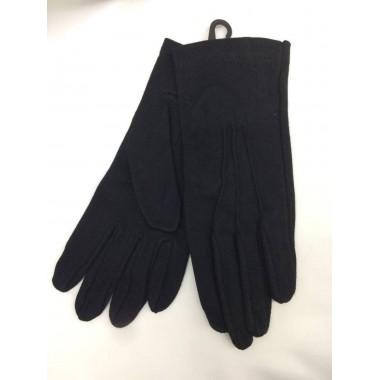 Luvas de algodão pretas