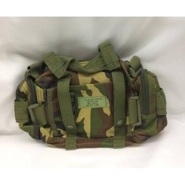 Bolsa pequena para acessórios camuflada -saco de mão mini