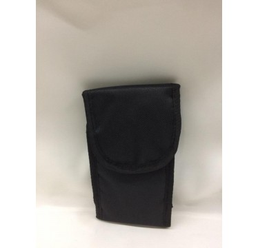 Bolsa para telemóvel em lona com elástico de lado [altura 17,5cm , largura 8,5cm]