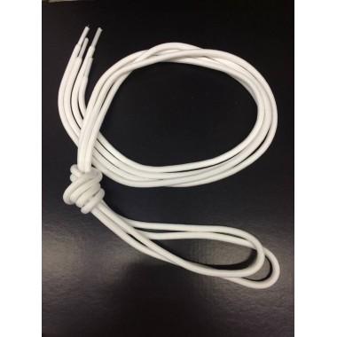 Par de cordões brancos de [2 metros]