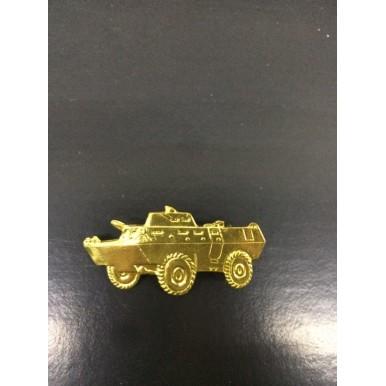 Emblema de metal tanque pequeno exército