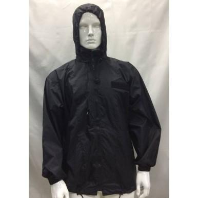 casaco preto impermeável  miltec