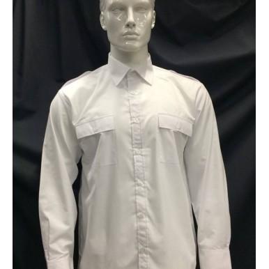 Camisa branca manga comprida