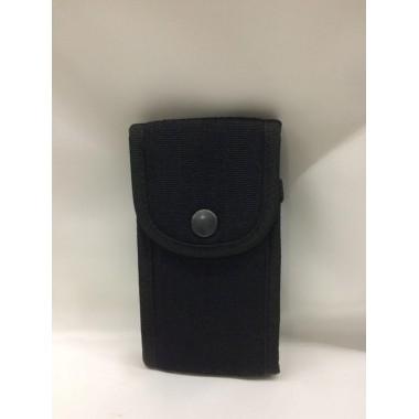 Porta telemóvel de lona medida de altura 14 de largura 7,5 com adaptação de elástico