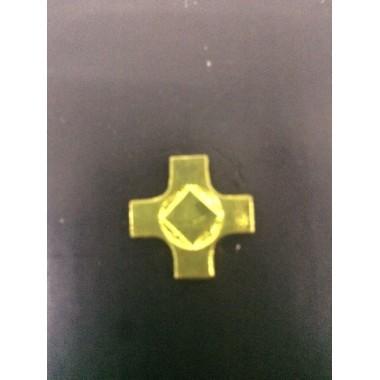 Emblema Cruz metal para por em passadores