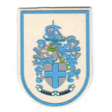 emblema de velcro emborrachado b/4